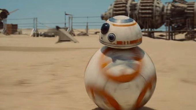"""stream img - O simpático droid BB-8 de """"Star Wars: O despertar da força"""" agora pode ser seu"""