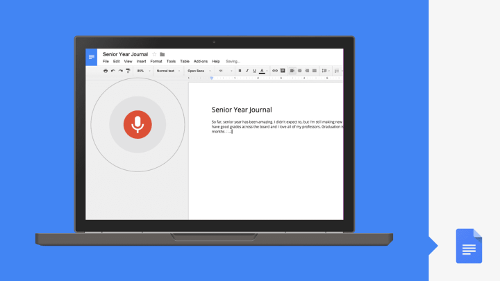 voice typing video available 720x405 - Agora o Google Docs entende o que você fala