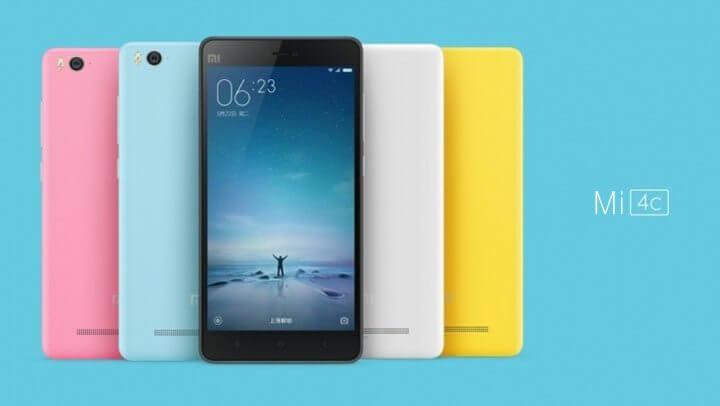 xiaomi mi 4c 720x406 - Conheça o Mi 4c, novo smartphone topo de linha da Xiaomi