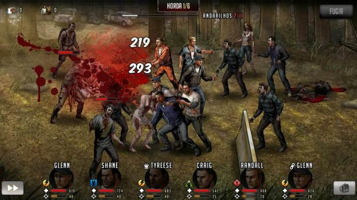 Walking dead road to survival gameplay