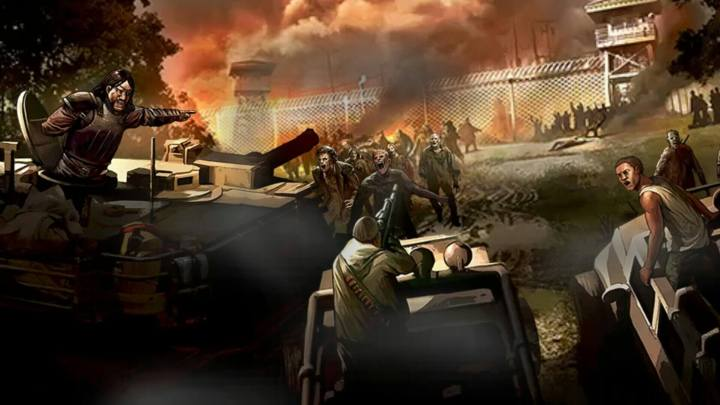 WaLKING dead road to survival governador
