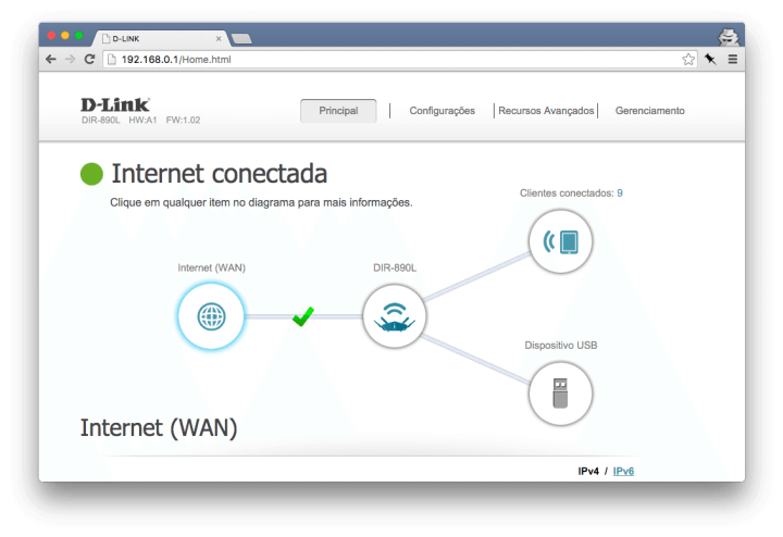 dlink config1 720x494 - Review D-Link AC3200 Ultra (DIR-890L)