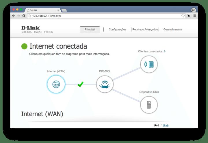 dlink config1 720x494 - Review D-Link AC3200 Ultra (DIR-890L)