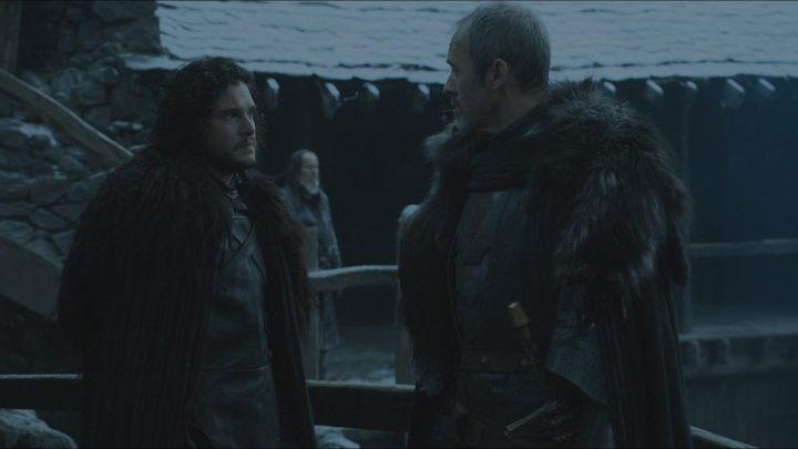 jon says farewell to stannis 720x405 - Fim da dúvida: Game of Thrones confirma a morte de certo personagem