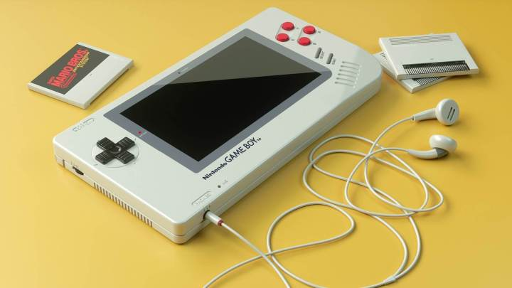 Nintendo GAME BOY 1up capa