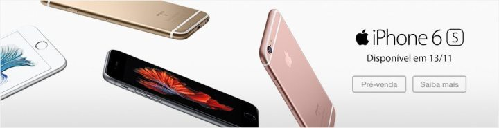 pre venda iphone fast 720x185 - Pré venda iniciada por Fast Shop e Fnac vaza os valores de venda do iPhone 6s e 6s Plus