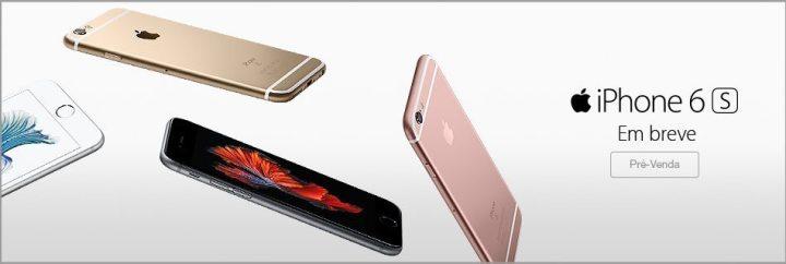 pre venda iphone fnac 720x242 - Pré venda iniciada por Fast Shop e Fnac vaza os valores de venda do iPhone 6s e 6s Plus