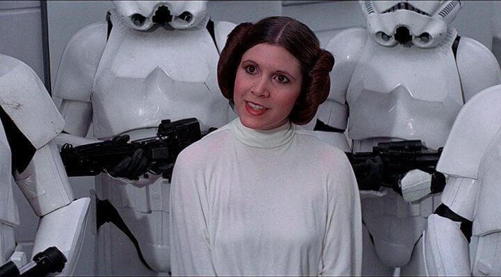 princesa leia 720x399 - O Guia (quase) definitivo sobre o Universo Star Wars