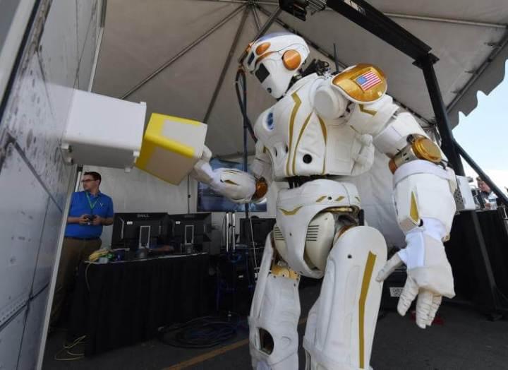 """""""Operação Valquíria"""": robô humanoide"""