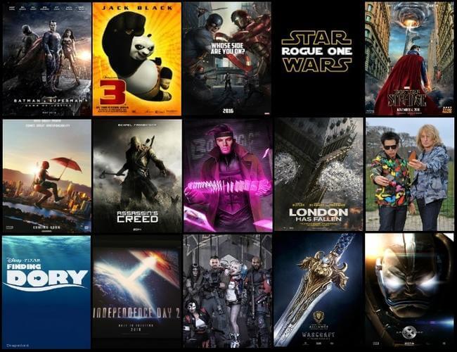 filmes mais aguardados de 2016
