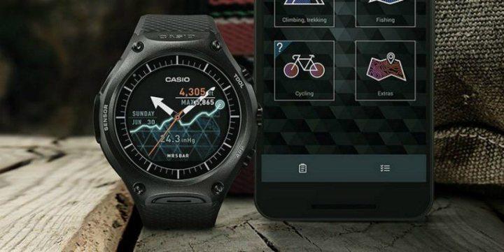 casio wsd f10 2 720x361 - CES 2016: Casio lança Smartwatch para atividades ao ar livre