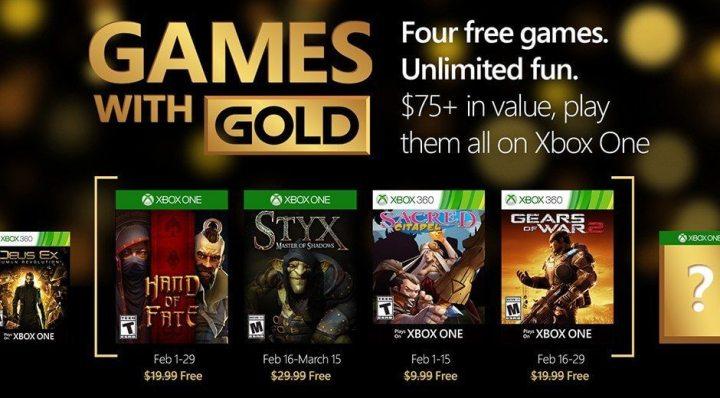 Jogos Grátis Fevereiro 2016 XBOX LIVE GOLD February 2016 Games With Gold