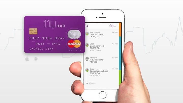 Nubank, uma fintech prática e revolucionária para cartões de crédito.