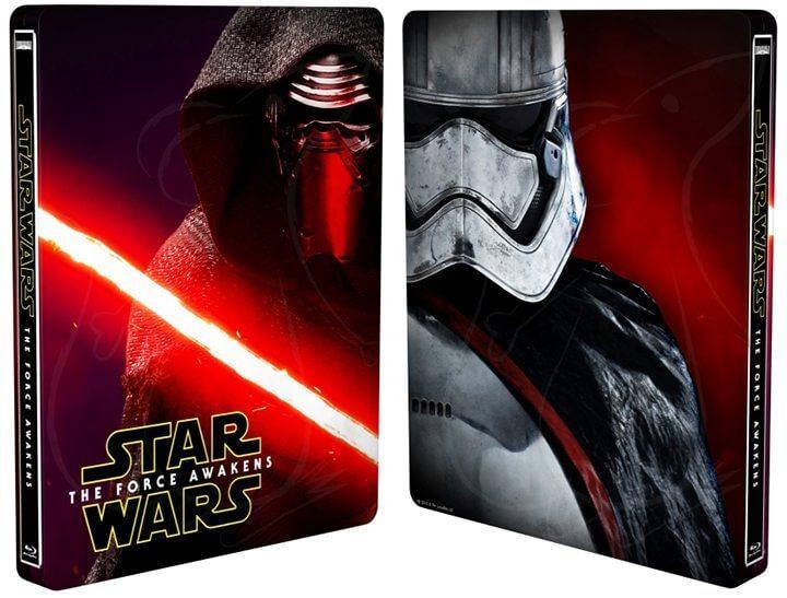 20160318steelbook starwars 720x547 - DVD, Blu-Ray e SteelBook de 'Star Wars: O Despertar da Força' já em pré-venda no Brasil