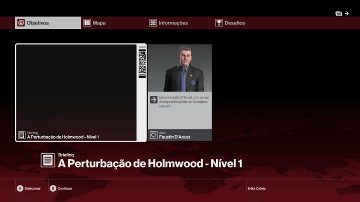A Perturbação de Holmwood Hitman Agravamento