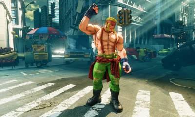 alex street fighter v - Street Fighter V: atualização traz Alex como novo personagem