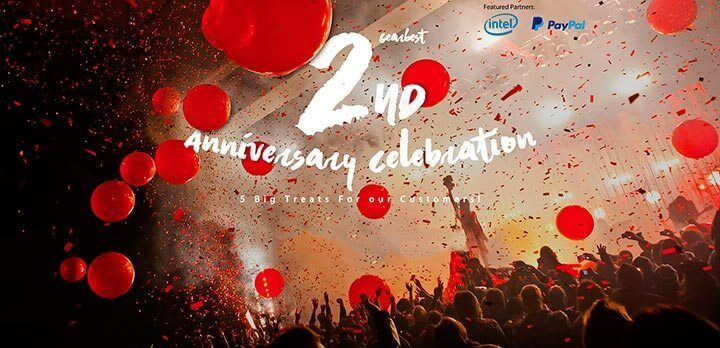 aniversario gearbest 720x348 - Gearbest celebra seu segundo aniversário com preços incríveis; venha conferir