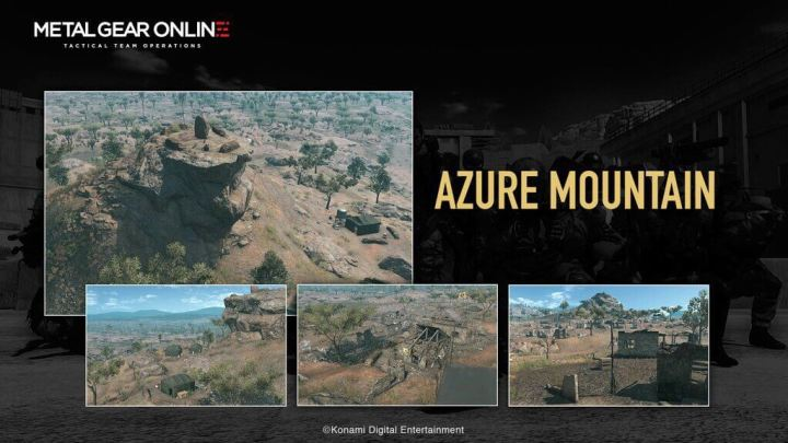 azure montain 720x405 - Metal Gear Online recebe DLC: Cloaked in Silence
