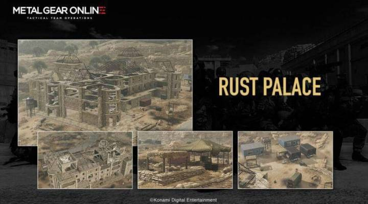 cloaked in silence rust palace 720x399 - Metal Gear Online recebe DLC: Cloaked in Silence