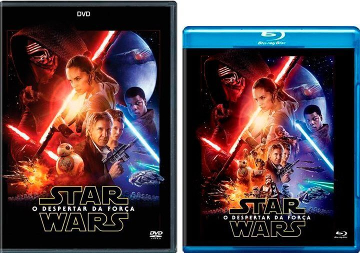 dvd blu ray star wars episodio vii 720x506 - DVD, Blu-Ray e SteelBook de 'Star Wars: O Despertar da Força' já em pré-venda no Brasil