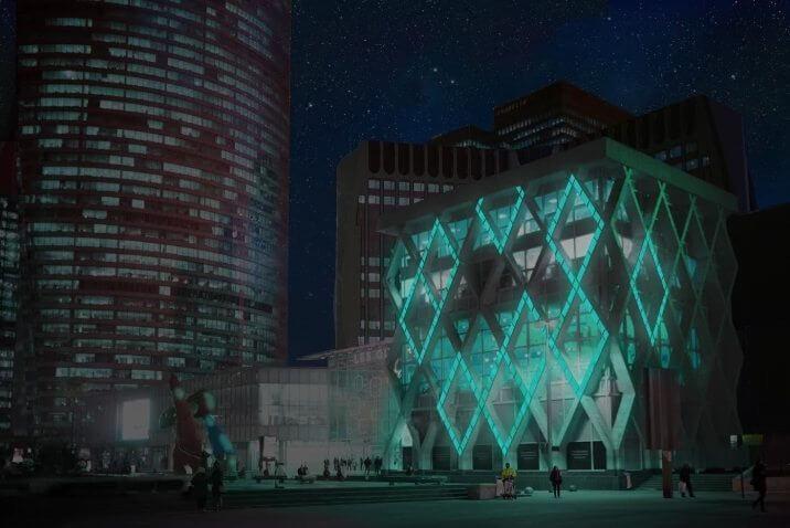 imagem 01 - Startup francesa ilumina ruas e fachadas sem gastar energia elétrica usando bactérias