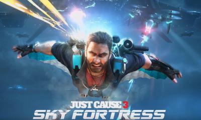 justcause 3 sky fortress - Prepare-se para voar: Just Cause 3 lança DLC Sky Fortress