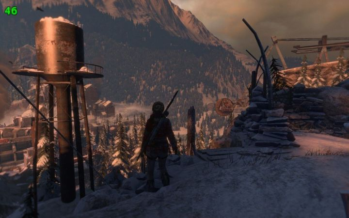 rise of the tomb raider 46 fps 720x450 - Rise of The Tomb Raider passa a suportar DirectX 12