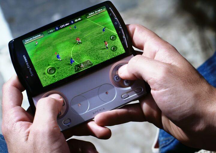 XPERIA Play, jogos para smartphones