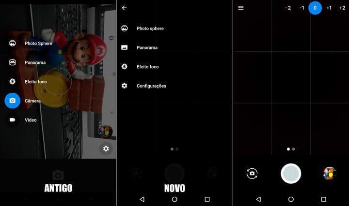 Câmera do Google do Android N