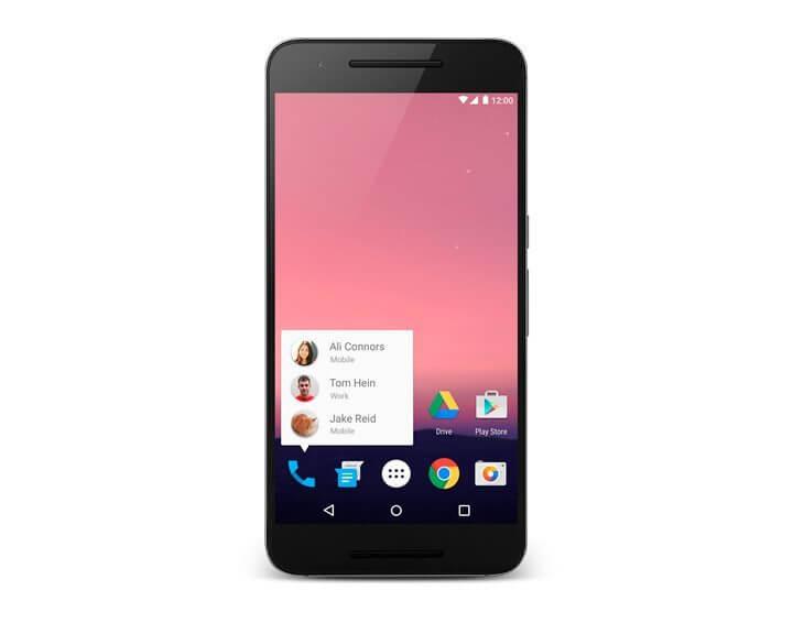 atalhos tela inicial - Android N ganha emoji de selfie e atalhos na tela inicial