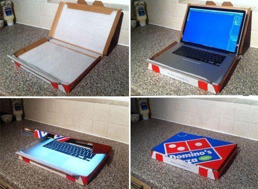 case de pizza notebook - 10 dicas para ajudar a proteger seu notebook em locais públicos