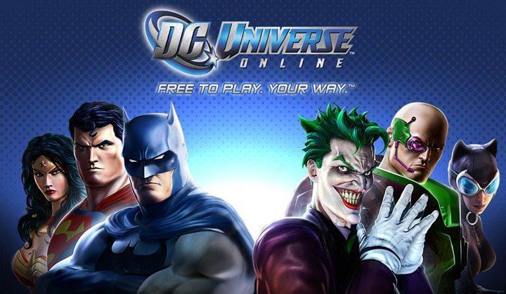 dc universe online 720x419 - Jogo DC Universe Online chega ao Xbox One