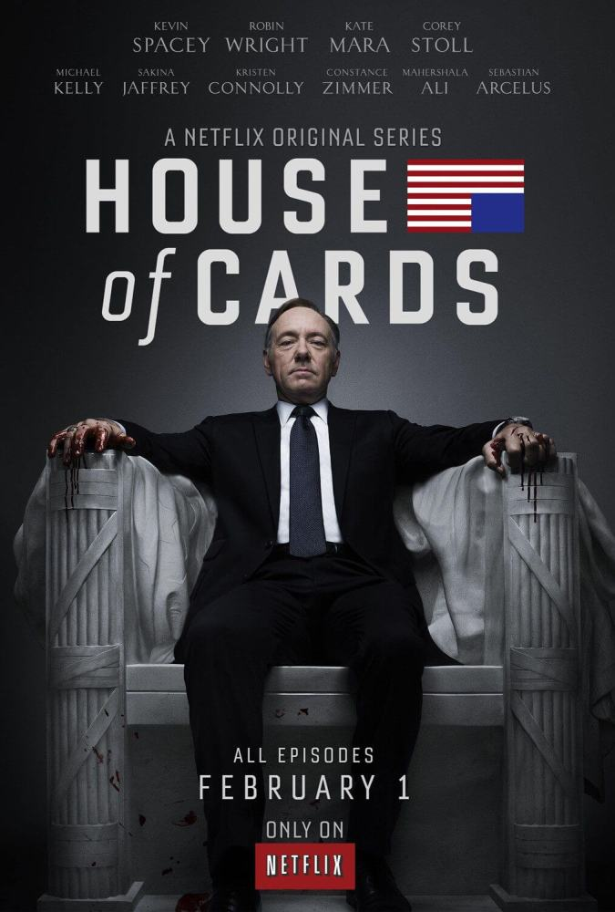 House of Cards vs. Corrupção no Brasil