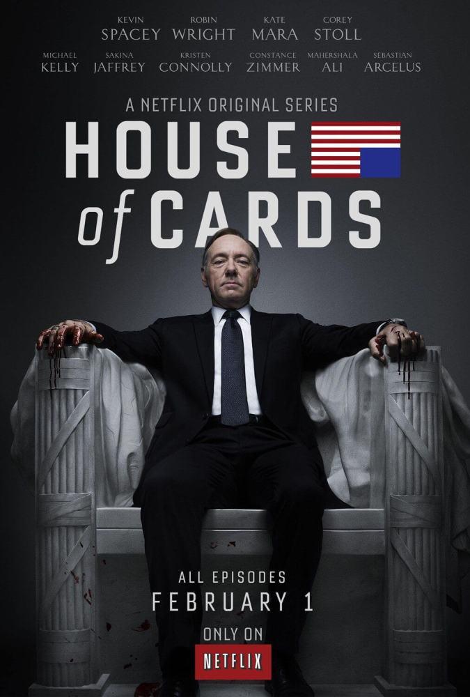 house of cards final poster 675x1000 - Se cuida Underwood: Netflix fará série sobre corrupção no Brasil