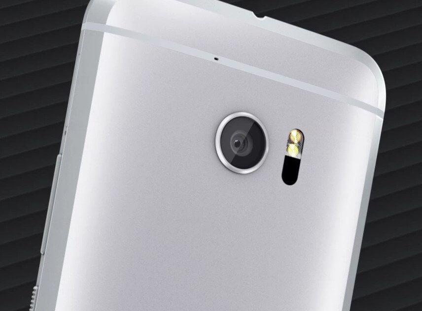 câmera HTC 10
