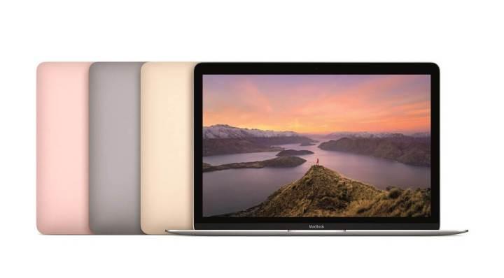 """mb12 pt pf family print 720x398 - Apple atualiza MacBook 12"""" com melhorias de performance e modelo rosa"""