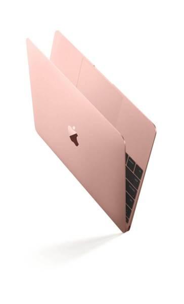 """mb12 rosegld open30vert print 606x1000 - Apple atualiza MacBook 12"""" com melhorias de performance e modelo rosa"""