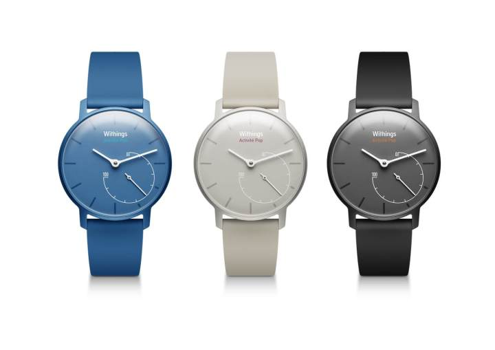Withings Activité Pop, um dos smartwatches da fabricante francesa adquirida pela Nokia