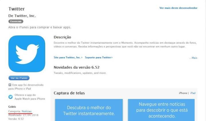 Twitter vira app de notícias