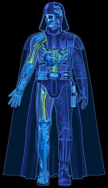 vader blueprint - Bomba: Saiba quanto o Império gastou na armadura de Darth Vader