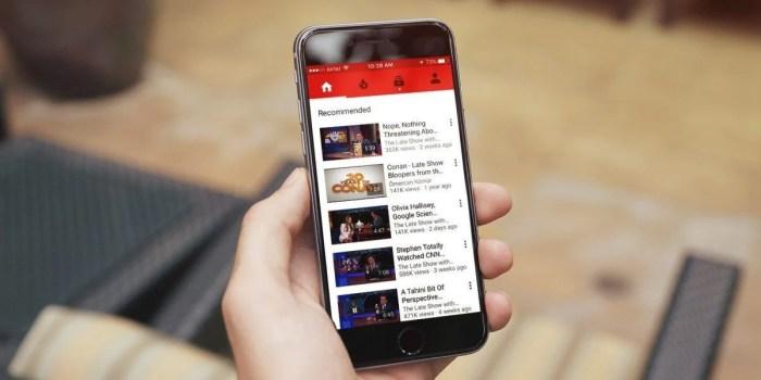 youtube iphone 1200x600 720x360 - Chegando por último, YouTube vai liberar vídeos ao vivo no iOS