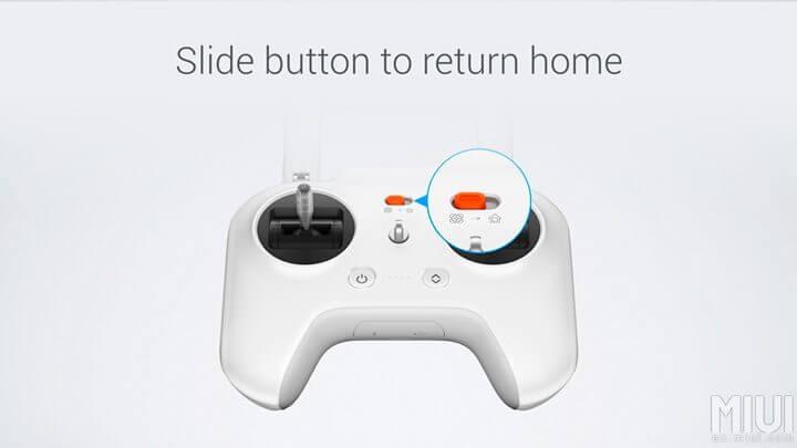 controle mi drone 720x405 - Xiaomi lança drone com câmera 4K e sistema de pouso automático