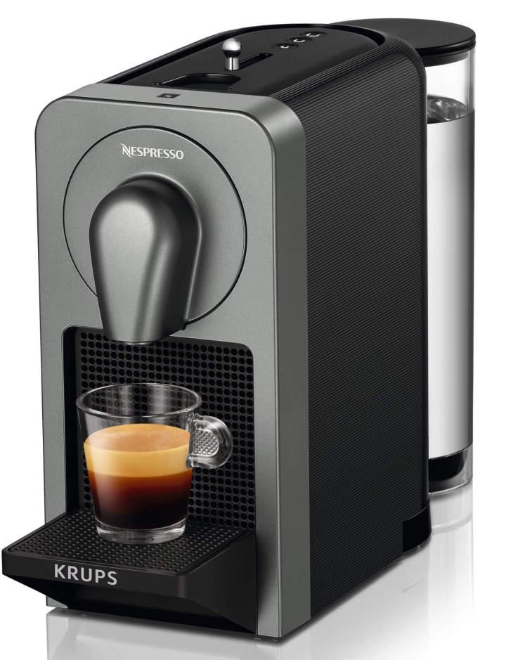 """Nespresso Prodigio: tem tecnologia """"última gota"""" e conecta-se com smartphones."""