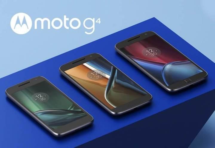 Família Moto G 4ª geração
