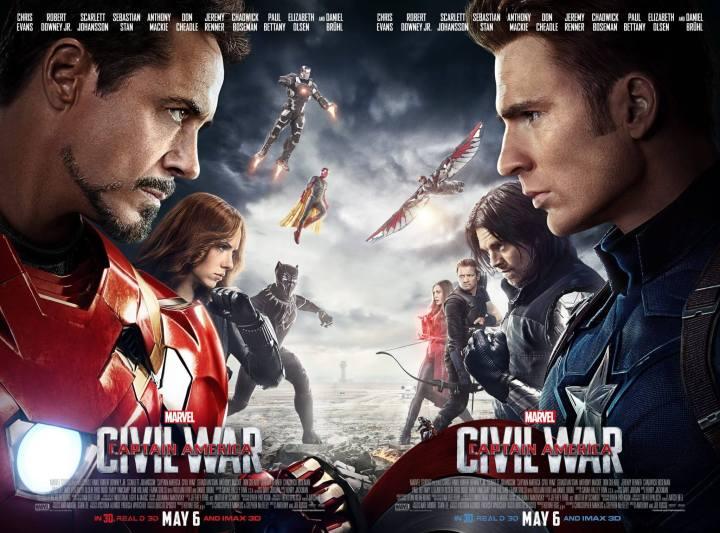 """smt walt disney studios marvel captain america civil war 720x533 - """"Guerra Civil"""" e os próximos lançamentos da Marvel"""