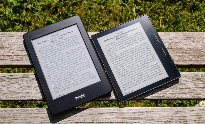 kindle oasis kindle paperwhite vergleich 720x438 - Review: Amazon Kindle Oasis