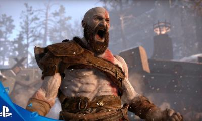 kratos god of war - E3 2016: Kratos está de volta! Sony anuncia God of War para PlayStation 4