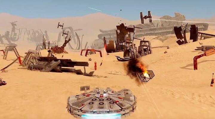 lego star wars millenium falcon 720x401 - E3 2016: Jogue agora a demo de LEGO Star Wars: O Despertar da Força