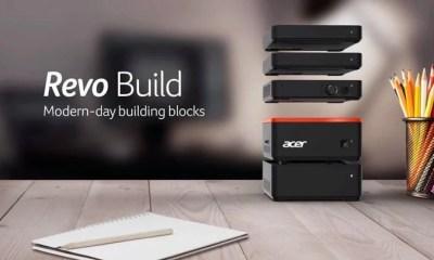 redvo build acer - Produtos da Acer são premiados durante a Computex 2016