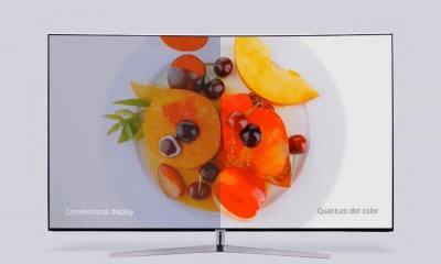 tecnologia de Pontos Quânticos que estarão presentes na linha de TVs SUHD 2016 da Samsung